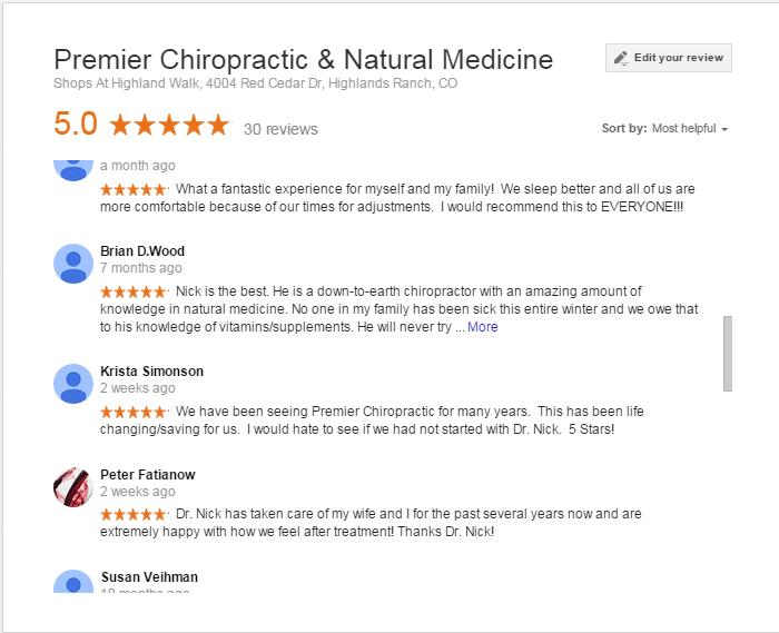 Premier Chiropractic & Natural Medicine
